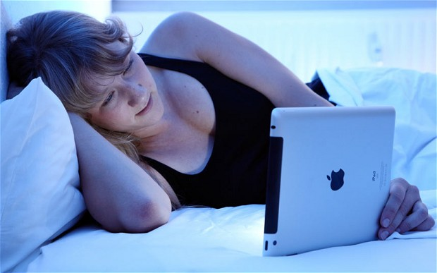 Bringing your electronics to bed can hamper your sleep.